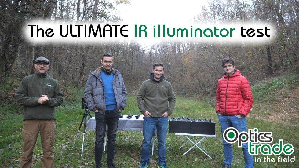 The ULTIMATE IR illuminator test