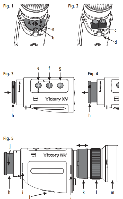 Zeiss Victory NV 5.6x62 T* instruction manual