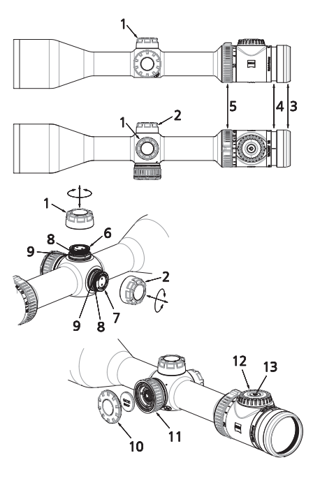Zeiss Victory V8 Rifle Scopes instruction manual