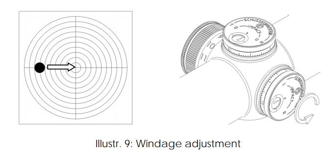 Schmidt & Bender 1-8x24 Exos Rifle Scopes instruction manual