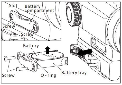 Holosun Infiniti HS402D Instruction Manual