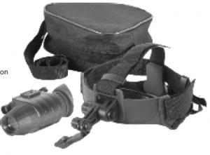 Pulsar NV Scope Challenger GS 1x20 Head Mount Kit, 3.5x50, 4.5x60, 1x20