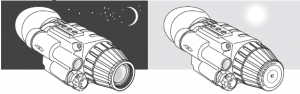 Pulsar NV Scope Challenger GS 3.5x50, 4.5x60, 1x20, 1x20 Head Mount Kit