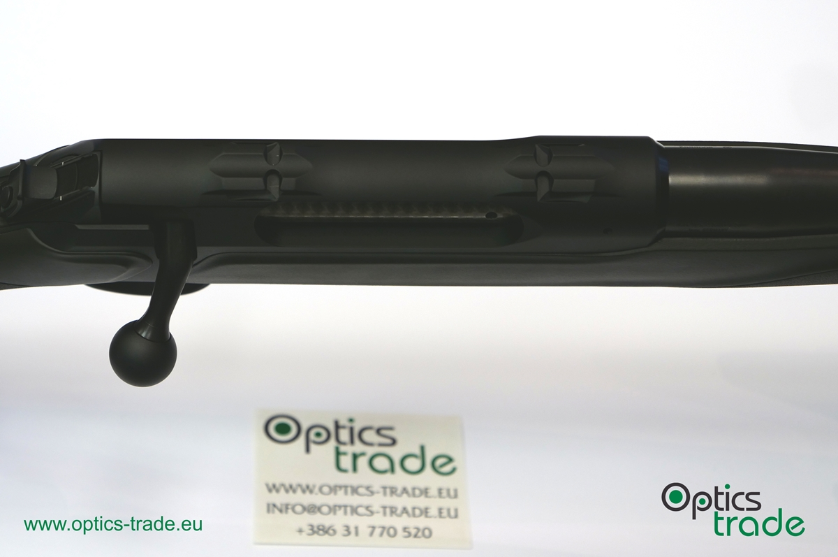 The mounting surface on a Sauer 404 rifle