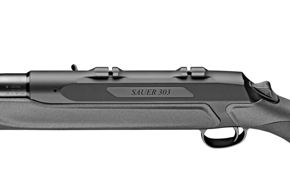 The mounting surface on new Sauer 303 rifles (SUM)