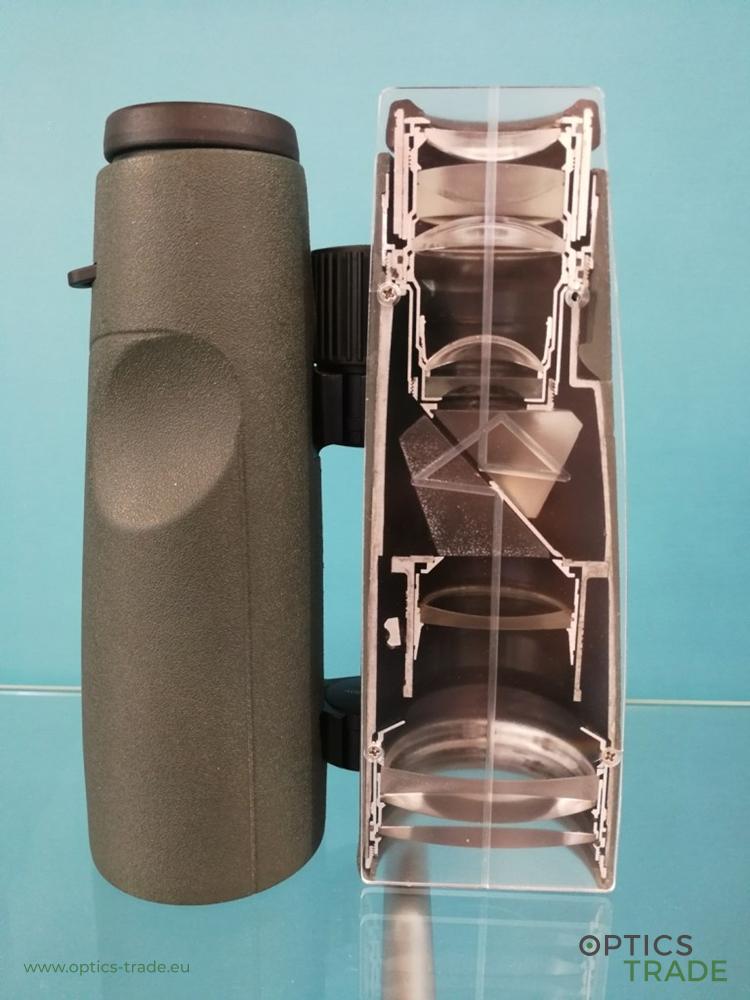 Swarovski binoculars' interior
