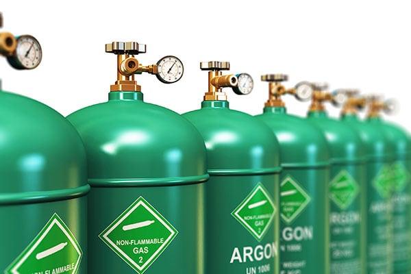 Argon Gas