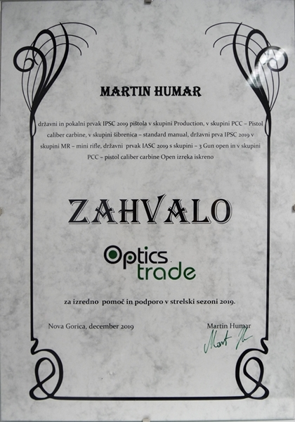 Optics Trade - Acknowledgements