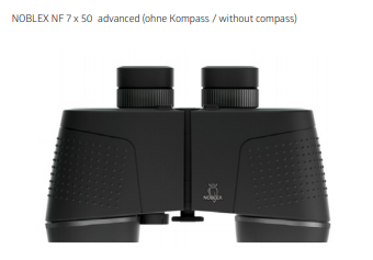 Noblex Advanced Binoculars Instruction Manual