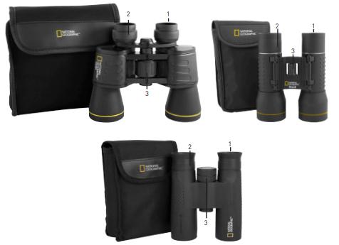 National Geographic Binoculars Instruction Manual