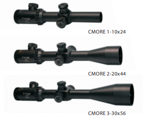 Nikko Stirling C-more Rifle Scopes Instruction Manual