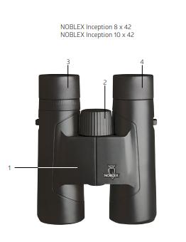 Noblex Inception Binoculars Instruction Manual