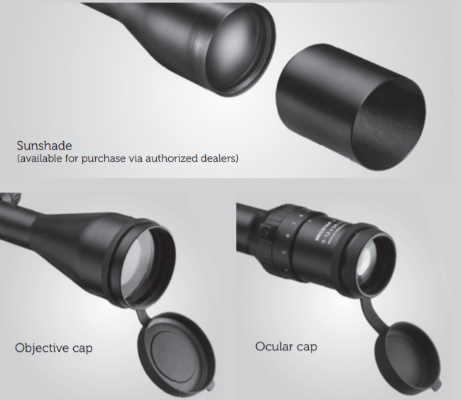 Meopta MeoStar R1 Riflescopes Instruction Manual