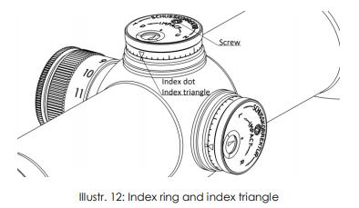 Instructions SCHMIDT & BENDER 3-12x54 Polar T96
