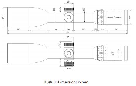 Instructions SCHMIDT & BENDER 3-12x50 Zenith