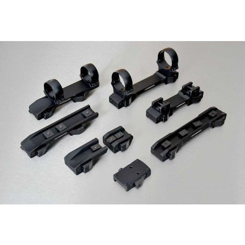 INNOMOUNT for Sauer 303, S&B Convex rail