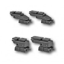 EAW pivot mount, S&B Convex rail, Remington XR 100