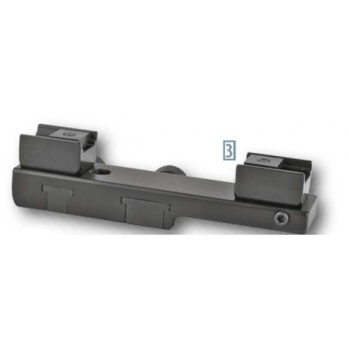 EAW One-piece Slide-on Mount for Brno BBF, ZH, 500, Super, Tatra, Swarovski SR Rail