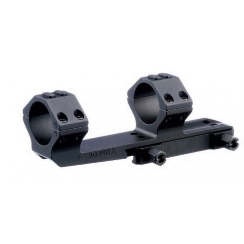 "ERA-TAC one-piece mount (mono-block), 2"" extended,  30 mm, nuts, 20 MOA"