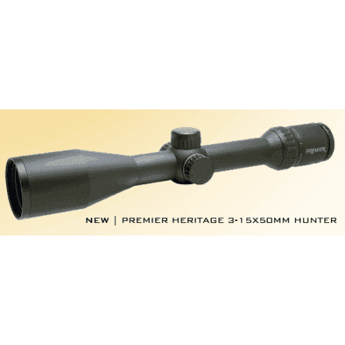 Premier Heritage 3-15x50 Hunter Illuminated (mrad)