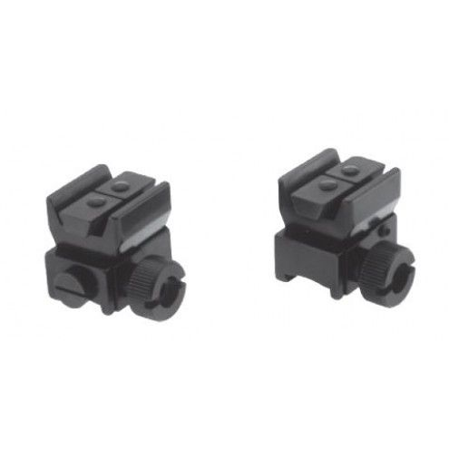 Recknagel Tip-off rings for 11mm dovetail, Zeiss ZM/VM rail