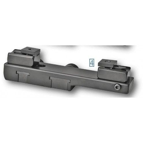EAW One-piece Slide-on Mount for Brno BBF, ZH, 500, Super, Tatra, S&B Convex rail
