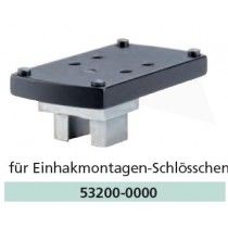 Recknagel Mount for Docter sight / Zeiss Compact-Point, German Claw mount