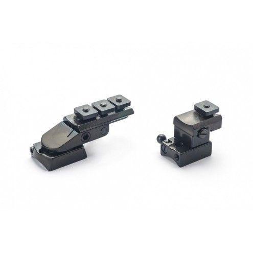 Rusan Pivot mount for Roessler Titan 16, S&B Convex rail