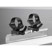 Kozap Slip-on one piece mount, Q-R, CZ 550 / CZ 557, 25.4 mm