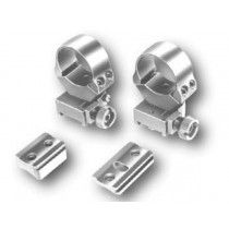 EAW Roll-off Mounts with foot plates for Mauser K 98, without bulb, 26 mm - KR 10 mm