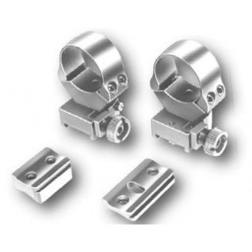 EAW Roll-off Mounts with foot plates, 34 mm, KR - 15 mm