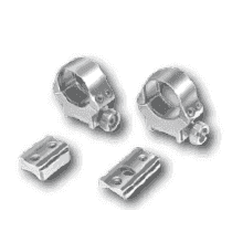 EAW Roll off Mounts with Foot Plates, 30mm, BH 18.5mm, Zastava M70