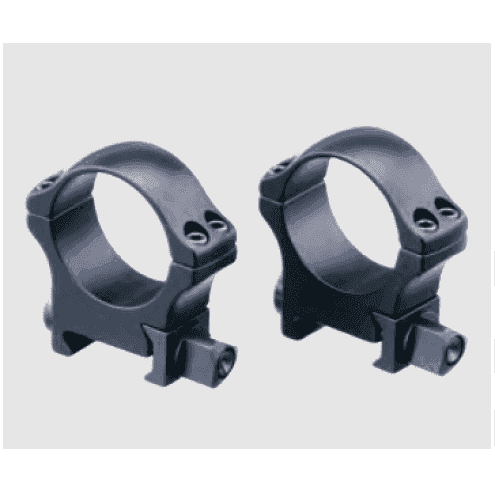 Recknagel Tactical scope rings, 26mm, nuts
