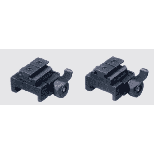 Recknagel Weaver mount for Swarovski SR rail, lever