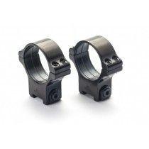 Rusan Roll-off Rings, 11 mm rail, 30 mm, Steel, Allen screw