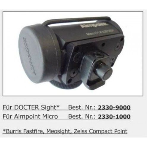 MAK Zeiss Compact Point (Plate) mount for Leupold QR base