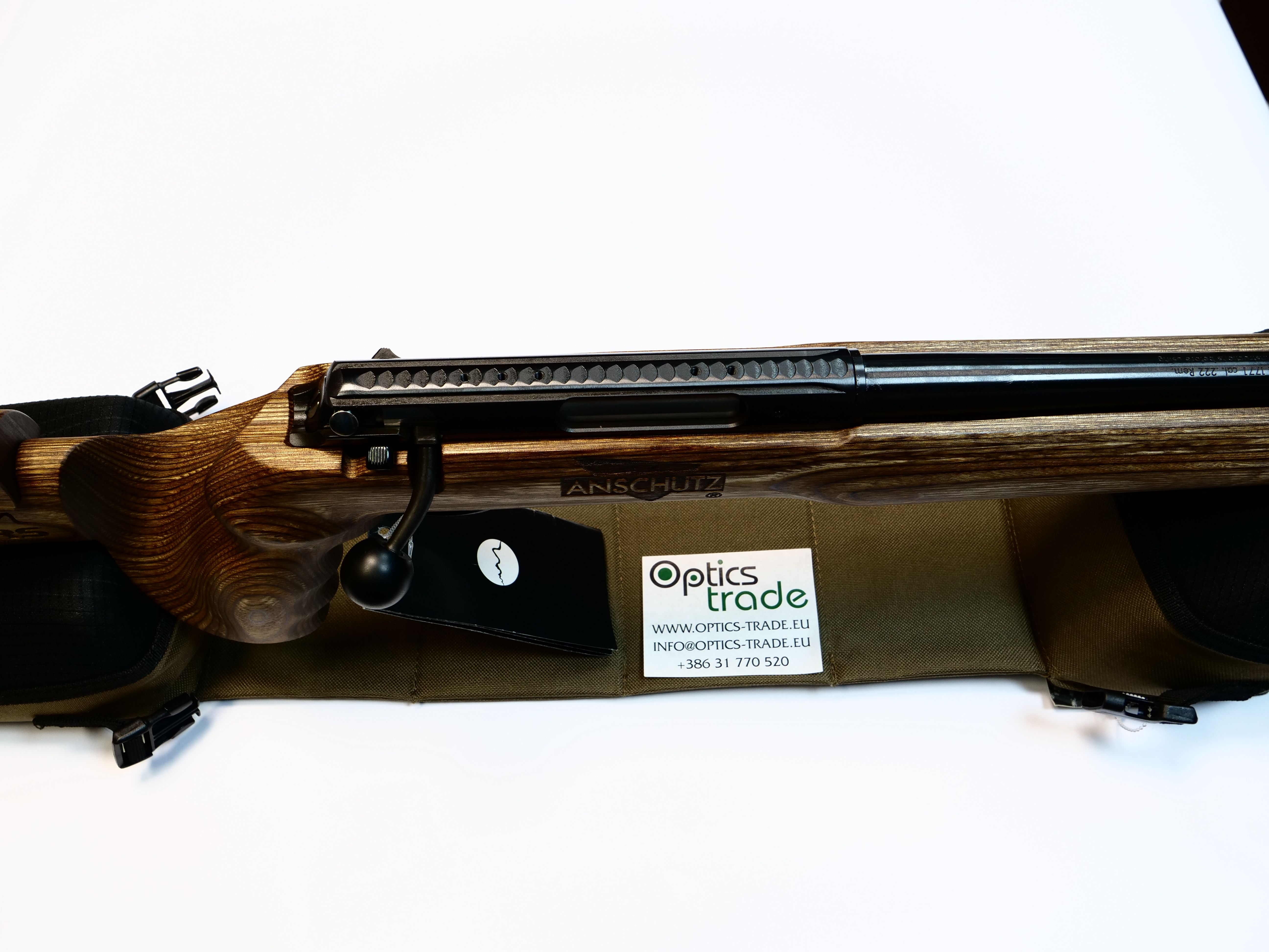 Rifle with Dovetail