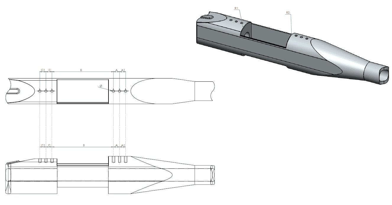 Mounting details